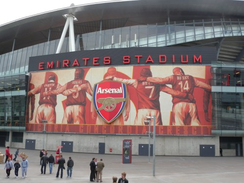 Emirates Stadium, Arsenal's new home since 2006.