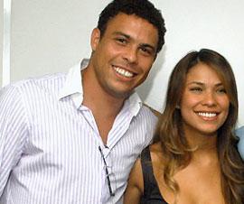 ronaldo with gf